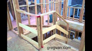 Two Story Construction Stairway Safety - New Homes And Room Additions