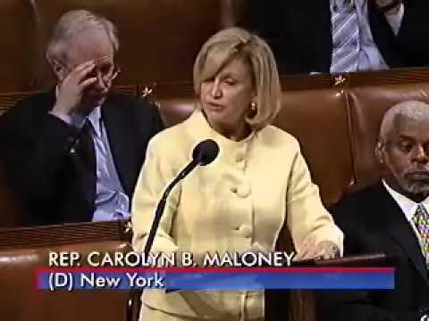 Rep. Maloney: Floor Speech On The Sex Trafficking Bill video