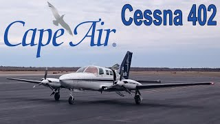 ✈ Cape Air | Cessna 402 | Boston to Martha's Vineyard