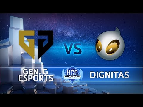 HGC 2018 - Mid-Season Brawl - Grand Finals - Gen.G vs. Team Dignitas Game 1