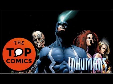 Todo lo que necesitas saber de los Inhumans