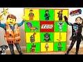 THE LEGO MOVIE 2 Giant Smash Surprise Toys Wall Game LEGO 2 MOVIE TOYS