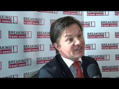 James Bryan, Associate Director of Sales, La Manga Club, Spain @ WTM 2012