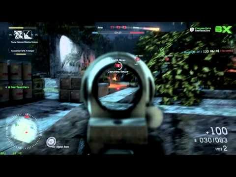 Medal of Honor Warfighter 3 Sector Control - Mapa Sarajevo Stadium