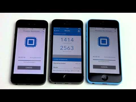 Geschwindigkeitstest: iPhone 5 gegen iPhone 5s gegen iPhone 5c - appgefahren.de