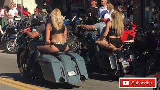 2018 Daytona Beach Bike Week Main Street Shenanigans / SUBSCRIBE PLZ