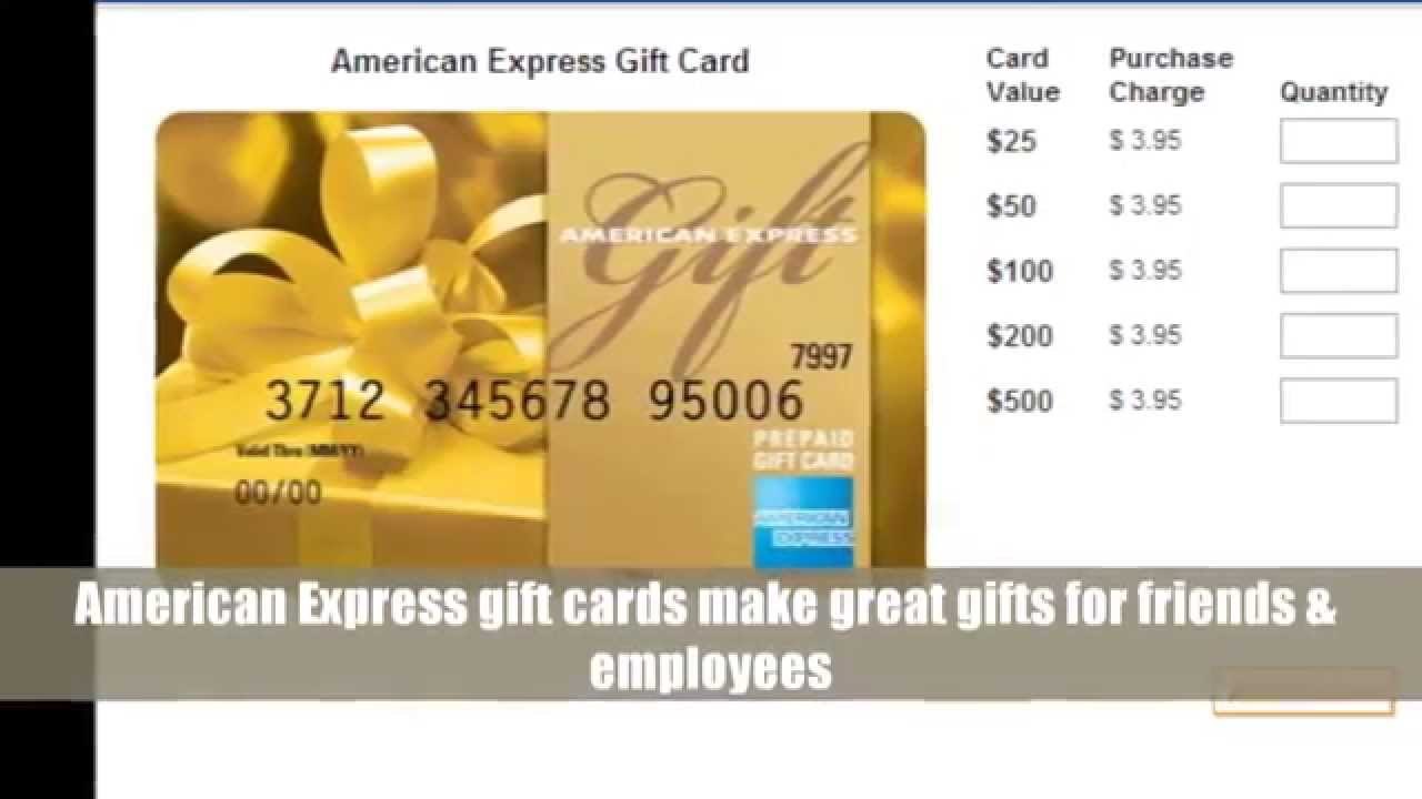 Save On American Express Gift Cards