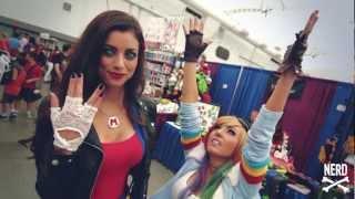 Anime Revolution Part 3 - I Love Nerd Girls - LeeAnna Vamp & Jessica Nigri