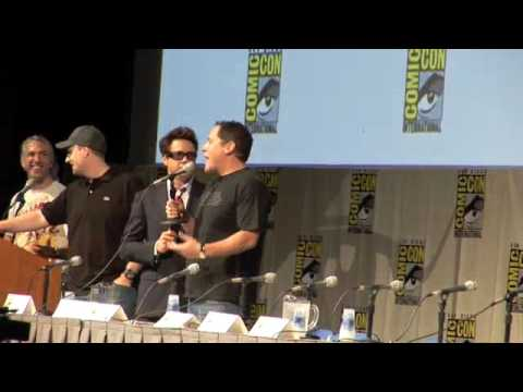 Thumb El Panel de Iron Man 2 en el Comic-Con 2009