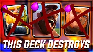 Clash Royale - ZERO WIN CONDITIONS? This Deck Destroys