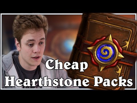 how to buy cheap packs hearthstone