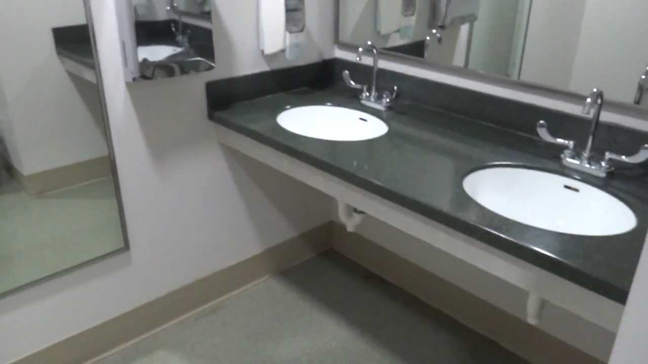 Bathroom tour american standard toilet and urinal lewis for Commodes bathroom tour