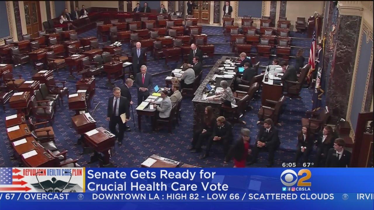 Senate Poised To Vote On Debating Healthcare Bill