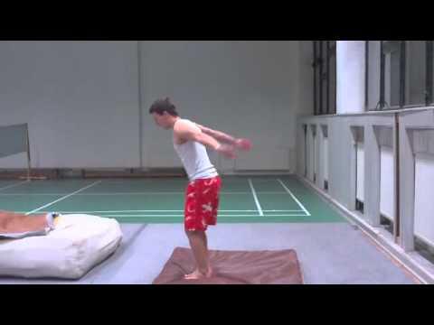 APF tutorial - salto vzad