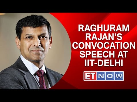 Rajan Unplugged: Raghuram Rajan's Convocation Speech At IIT-Delhi