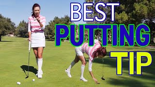 Best Putting Tip of Your Life | Golf with Aimee