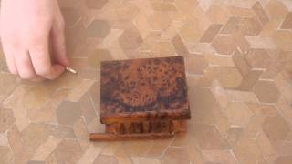 Magic Box with secret Key and hidden compartment