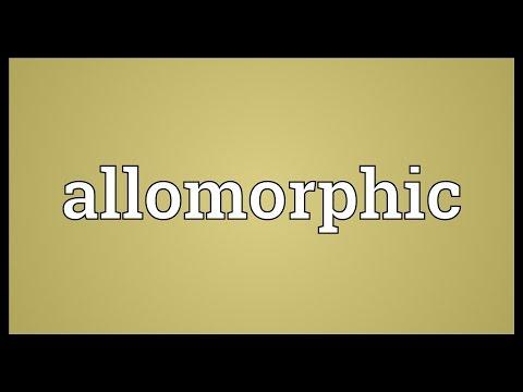 Header of allomorphic