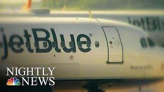 Toxic Fumes May Have Caused JetBlue Flight's Emergency Landing | NBC Nightly News