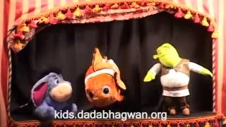 Misery To Happiness (puppet show for Kids in English)