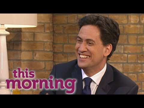 Ed Miliband On The Ecomony And His Russell Brand Interview   This Morning