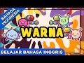 Lagu Belajar Bahasa Inggris | Warna (Colours)| Lagu Anak Anak Terpopuler 2017 Bibitsku