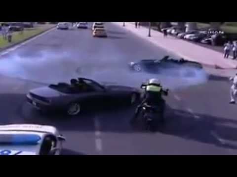 S2000 Drifting vs police in Turkey by Almancı Taner İrdem