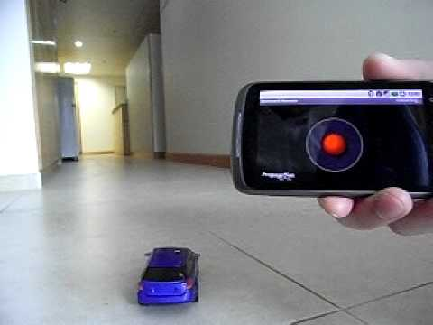 Android Nexus One Bluetooth Remote Control Toy Music Videos