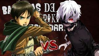 Eren Jaeger VS Kaneki Batallas de Rap Friki Legendarias Jexer ft AlVa