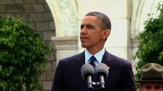 President Obama Speaks at the National Peace Officers Memorial Service