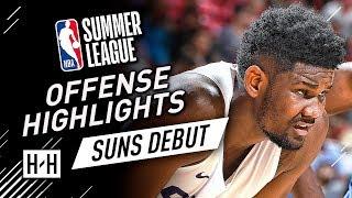 DeAndre Ayton Full Offense & Defense Highlights at 2018 NBA Summer League - Phoenix Suns Debut!