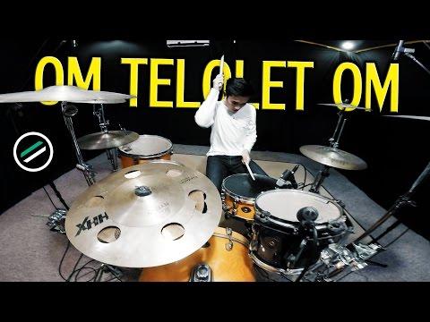 OM TELOLET OM - Drum Cover - Ixora (Wayan) [Eka Gustiwana Remix]