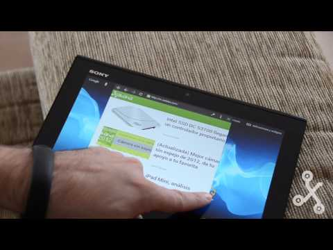 Sony Xperia S tablet en vídeo