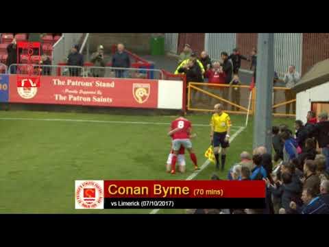 Goal: Conan Byrne (vs Limerck 07/10/2017)