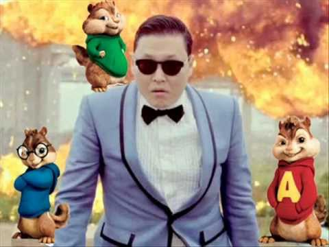 Alvin and the Chipmunks Gangnam Style