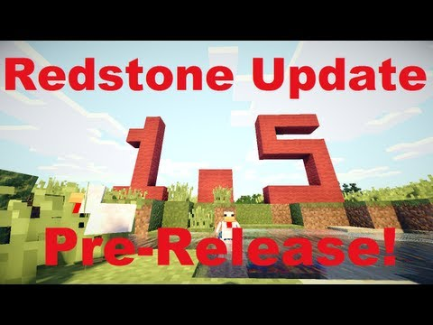 Minecraft Weekly News: 1.5 Pre-Release - The Redstone Update!