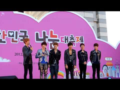 121007 나눔대축제 Exo-k History & Mama video