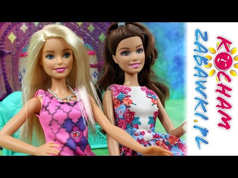 Projektowanie sukienki - Barbie - Bajki dla dzieci