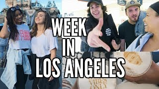 WEEK IN THE LIFE of a YouTuber in LA | Running into David Dobrik and Zane!