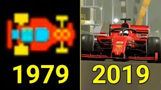 Evolution of F1 Games 1976-2019