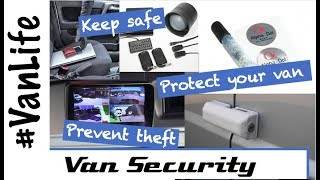 VanLife Safety and Security - How we keep safe in our Campervan / Motorhome