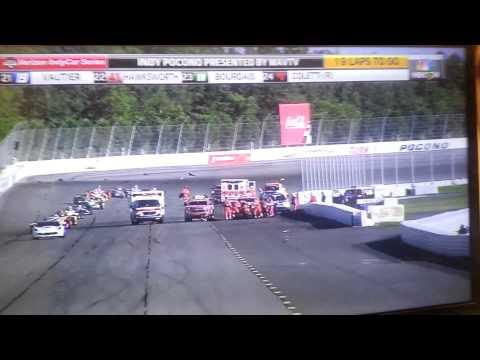 Justin Wilson Crash