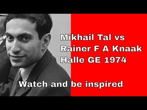 Spanish Opening: Mikhail Tal vs Rainer F A Knaak