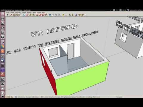for Modelisation maison 3d