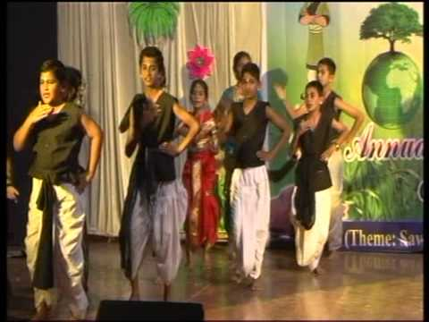 Podar International School Latur - Annual Function 2013 (Aamhi...
