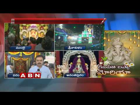 Vinayaka Chaturthi Grand Celebrations In Warangal Ganesh Chaturthi 2018