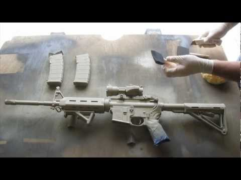 How to Camouflage a Rifle(AR15)