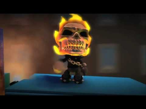 LittleBigPlanet 2 PS3 [Gameplay] Marvel Character Pack 2
