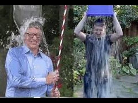 Mark Zuckerberg & Bill Gates ALS Ice Bucket Challenge Slow Motion Guys HD