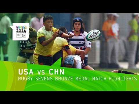 Women's Rugby Sevens Bronze Medal Match - Highlights | Nanjing 2014 Youth Olympic Games